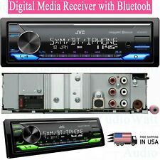 NEW JVC KD-X370BTS Digital Media Receiver w/ Bluetooth USB SiriusXM Amazon Alexa