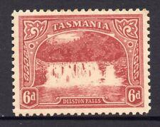 Tasmania: 6d Pictorial Sg 248a Perf 11 Wmk Ca Mh Scarce!