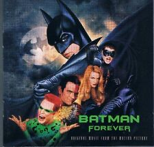 Batman Forever Music From the Movie CD and Original Score CD