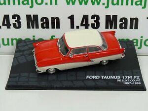 RBA39 voiture 1/43 IXO eagle moss : FORD TAUNUS 17M P2 1957/1959