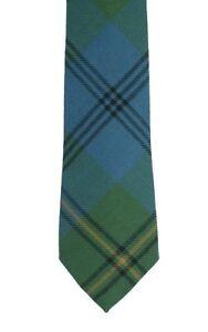 Johnstone Ancient Tartan Tie in Modern Width - Made in the UK (6-W109/29)