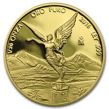 2016 Mexico 1/20 oz Proof Gold Libertad - SKU #103087