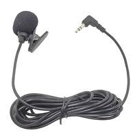 3,5mm Lavalier Revers Mikrofon Omnidirektionale Mic Für PC Sound Karte Kamera