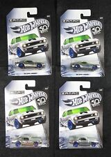 2018 Hot Wheels  50th Anniversary  Zamac '68 Copo Camaro  Scratch/Dent Lot of 4