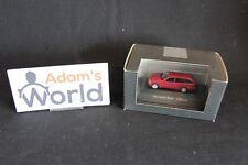 Herpa Mercedes-Benz C-Klasse T-Modell 1:87 red (JS)