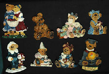 Boyds Bears & Friends Eight 8 Assorted Lot Collectible Decorative Figurines Vgc