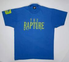 Vintage 90s T Shirt M tee The Rapture david duchovny movie blue film jr foods