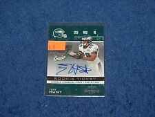 TONY HUNT PHILADELPHIA EAGLES PENN STATE 2007 PLAYOFF CONTENDERS AUTO RC