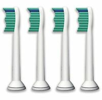 4*SONICARE TOOTHBRUSH HEADS COMPATIBLE WITH PHILIPS HX6017 HX6511 HX6711