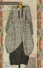 LOUISA SHIRT & SKIRT SEWING PATTERN, from Tina Givens, *NEW*