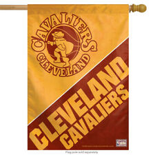 """Cleveland Cavaliers Vertical NBA House Flag Basketball Licensed 28"""" x 40"""""""