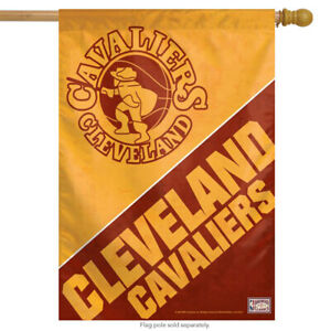 "Cleveland Cavaliers Vertical NBA House Flag Basketball Licensed 28"" x 40"""