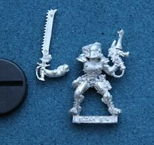 WARHAMMER 40K ELDAR STRIKING SCORPION ASPECT WARRIOR METAL OOP (P328,G327)