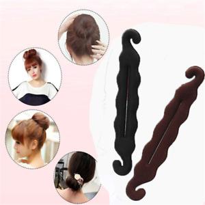 1Pcs Hair Tool Foam Magic Sponge Hair Clip Accessories Bun Curler Twist Fashion