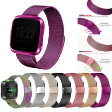 Magnetic Milanese Metal Band Stainless Steel Wrist Band Strap For Fitbit Versa