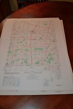 1940's Army topographic map Brockport New York -Sheet 5470 III NW
