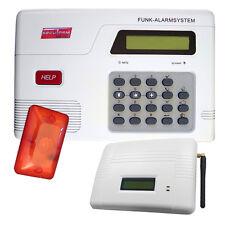 Secularm Funk Alarmanlage mit GSM Modul als Set Sicherheits System Alarm Einbruc