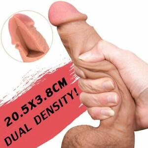 ULTRA-Realistic-Dildo-Suction-Cup-Anal-Vagina-Sex-Toy-for-Women-No-Vibrator