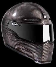 BANDIT XXR casco in carbonio L L60 Casco Moto Dome VISIERA NERA STREETFIGHTER
