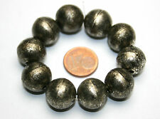 10 x Perla in metallo in ottica antico circa Tibet STYLE