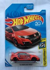 Hot Wheels HONDA Civic Type R FK8 Mugen Spoon JDM HFP S i vtec 2.0 Turbo I4 OEM