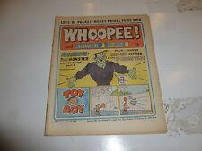 WHOOPEE! & SHIVER & SHAKE Comic - Date 19/10/1974 - UK Paper comic