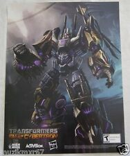 SDCC Comic Con 2012 EXCLUSIVE Transformers FALL OF CYBORTRON poster Bruticus HTF