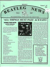 Belmo's Beatleg News - Dec 1994 (Vol 7 #5) - Beatles Fanzine, Bootlegs