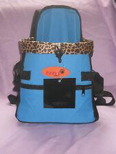 Pet  CARRIER  Color  BLUE Size Medium