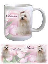 Maltese Dog Ceramic Mug by paws2print