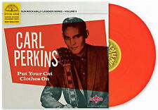 """CARL PERKINS 10"""" Put Your Cat Clothes On OFFICIAL Sun Legends Volume 5 RED Vinyl"""