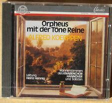 Alfred Koerppen - Orpheus mit der Töne Reine - Knabenchor Hannover -CD neu & OVP