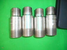 "(Lot of 4) 1-1/24"" x 1"" XH  SA A403 WP304/L-9 Pipe Nipple"