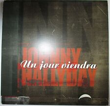 "JOHNNY HALLYDAY - CD SINGLE PROMO ""UN JOUR VIENDRA"""