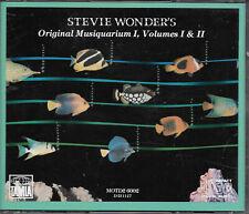 Stevie Wonder - Original Musiquarium Volume 1 & II In Original Fat Case 2 X CD