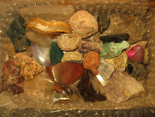 Rock & Mineral Collection, Healing Crystal Reiki Wicca, Agate Quartz Calcite, #6