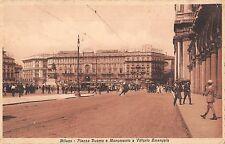 BF5481 italy milano piazza duomo e monumento a vittorio emanuel    Italy