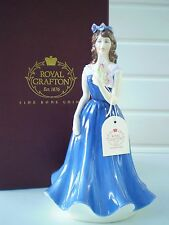 Royal Grafton China Figure - Amy - Blue Colourway - The High Society Collection