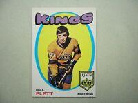1971/72 O-PEE-CHEE NHL HOCKEY CARD #47 BILL FLETT NM SHARP!! 71/72 OPC