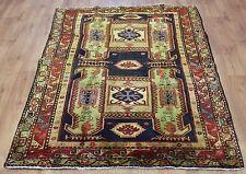 Traditional Vintage Wool 215cmX135cm Oriental Rug Handmade Carpet Rugs
