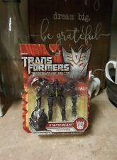 NEW Transformers STARSCREAM Keychain Decepticon Revenge of the Fallen Seeker SIB