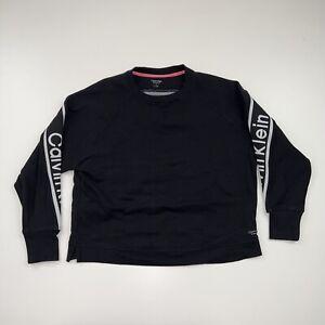 Calvin Klein Performance Crewneck Sweatshirt Size Women's Medium Black