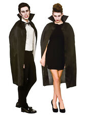 "Les adultes unisexe noir 42"" deluxe vampire déguisement cape vampiress halloween neuf"