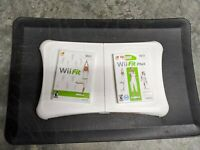 Nintendo Wii Fit Plus Balance Board Workout Fitness Bundle! 2 Games Bundle GREAT