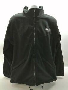 Genuine Ex Government / Prison Service Fleece Black Uniform Patrol Duty Security