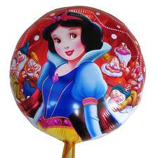 """Snow White foil balloon 18"""" or 45cm round Disney Princess"""