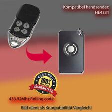 Handsender Ersatz Garagentorantriebe 433,92 MHz HE4331 Funksender