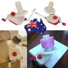 Hand Operated Yarn Winder Fiber Wool String Ball Thread Skein Winder Machine uN