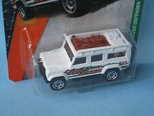 Matchbox Land Rover 110 Defender White Body Off Road 4x4 Toy Model Car 70mm