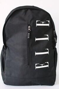 Elle Timeless Backpack Bag Black